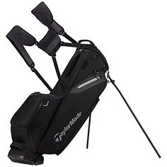 2017 TaylorMade Flextech Lite Stand Bag Black for sale online Golf 7, New Golf, Play Golf, Golf Stand Bags, Hip Pads, Wii Sports, Golf Gifts, Golf Accessories, Taylormade