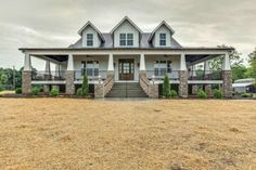 Awesome Top Country House Exterior Design Ideas With Top Country House Exterior Design Ideas. Elegant Top Country House Exterior Design Ideas With Top Country House Exterior Design Ideas. Modern Farmhouse Design, Modern Farmhouse Exterior, Farmhouse Plans, Rustic Farmhouse, Farmhouse Front, Rustic House Plans, Farmhouse Stairs, Craftsman Farmhouse, Farmhouse Style