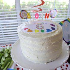 Rainbow Art Party from Hi Sugarplum! - Dimple Prints
