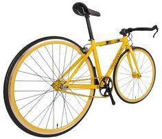 iWant7000 美茫黃 Mango Yellow  700C Bull Bar, Fixed Gear/Single Speed Dual Mode Urban Bicycle