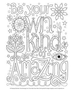App to make photos into coloring pages ~ Free and printable quote coloring pages, perfect for the ...