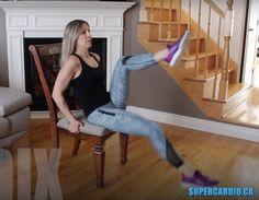 Séance express : 10 exercices d'abdos en 10 minutes. Fait partie du programme SuperCardio 10DIX. Travaille la ceinture abdominale.