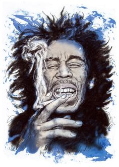 *Bob Marley* More fantastic caricatures, pictures and videos of *Bob Marley* on: https://de.pinterest.com/ReggaeHeart/ ©Kim Wang/ http://fineartamerica.com/profiles/kim-wang.html