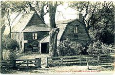 Dedham, Massachusetts - the Fairbanks House Built 1636.