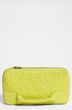 Alexander Wang 'Dumbo' Leather Clutch available at #Nordstrom