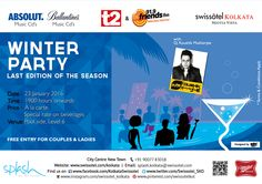 Time to do away with the chill with the Winter Party-last edition at the poolside