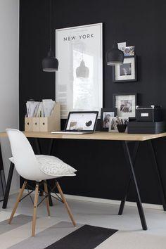Modern home office d