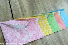 DIY Envelopes - from any paper!