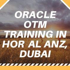 best oracle training institutes: Oracle OTM Training in Hor Al Anz, Dubai
