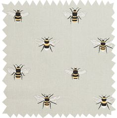 Bees Fabric by the Metre from Sophie Allport