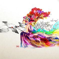 Art Painting #iPad #Wallpaper 、