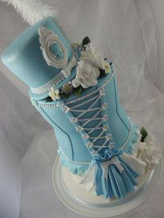 Bustier birthday cakes