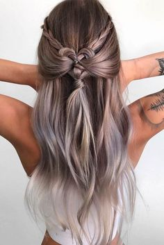 10 geflochtene frisuren fr langes haar hochzeiten festivals urlaub haar ideen glamorous dutch braid hairstyles to try now the undercut Easy Hairstyles For Long Hair, Holiday Hairstyles, Braids For Long Hair, Pretty Hairstyles, Wedding Hairstyles, Long Curls, Amazing Hairstyles, Bohemian Hairstyles, Braided Hairstyles