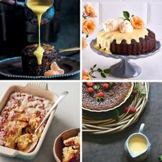 It's impossible to resist this South African favourite! We share our list of the only malva pudding recipes you'll ever need (including a low-carb version) Malva Pudding, South African Recipes, Pudding Recipes, Food Lists, Recipe Collection, Kos, Food Hacks, Recipies, Low Carb
