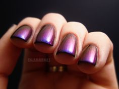 China Glaze Liquid Leather  Ozotic 506, want my toes done like this!!