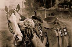 Cowgirl. Country Girl. Quarter Horse -Buckskin.