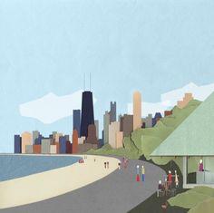 Internationaler Wettbewerb in Chicago entschieden / Lakefront Kiosk - Architektur und Architekten - News / Meldungen / Nachrichten - BauNetz.de