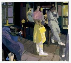 """Susan Lichtman Yellow Purse  2006 Oil on Linen 42""""x48"""" http://susanlichtman.com/artistInfo/big/Susan-Lichtman_23.jpg"""