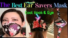 How to make face mask without elastic- face mask with ear savers.- diy face mask by the twins day How to make face mask without elastic- face mask with ear savers.- diy f...<br>