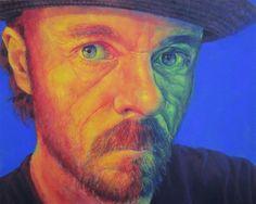 Colour Blind Acrylic on canvas 24 x 30 in