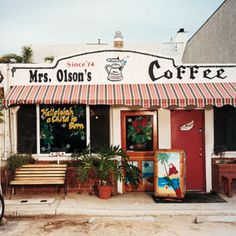 """Mrs. Olson's Coffee Hut. 117 Los Altos Drive, Oxnard. """"Order one of the bazooka-sized breakfast burritos, or the French toast with cool strawberries or the heuvos rancheros with their soft chunks of tomatoes and jalapenos. Ask for the home fries, the thick ones grilled all morning in paprika, garlic salt, parmesan cheese, and probably some other stuff."""""""