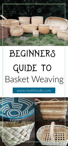 Basket Weaving Introduction for Beginners Flax Weaving, Willow Weaving, Bamboo Weaving, Weaving Art, Hand Weaving, Weaving Process, Weaving Techniques, Basket Weaving Patterns, Making Baskets