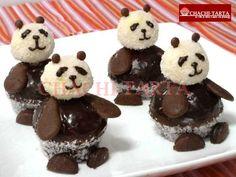 Panda cupcakes (sin gluten, sin lactosa)