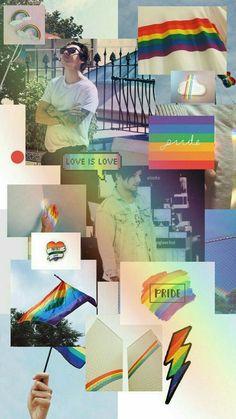 Wallpapers Kawaii, Gay Aesthetic, Lgbt Love, Rainbow Wallpaper, Rainbow Aesthetic, Cute Patterns Wallpaper, Lgbt Community, Rainbow Pride, Mo S