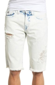 c84af260 True Religion Brand Jeans 'Ricky' Cutoff Denim Shorts (Worn Sunfaded) |  Nordstrom