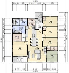Japanese Architecture, House Layouts, House Plans, Floor Plans, How To Plan, Interior, Home, Indoor, Ad Home
