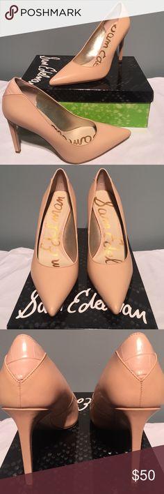 🎈NIB Sam Edelman🎈 NIB Sam Edleman Dea Soft nude Vaquero Saddle leather.  Heel is 4 1/4.  Thanks for looking! Sam Edelman Shoes Heels