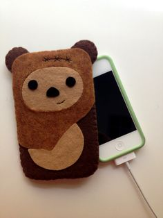 Ewok Phone Cozy by lifegeekery on Etsy