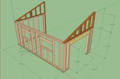 x Cottage / Cabin Shed With Porch Plans 753182758428 Carport Plans, Shed Floor Plans, Porch Plans, Diy Shed Plans, Barn Plans, Shed With Loft, Shed With Porch, Workshop Shed, Diy Storage Shed