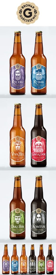 #Gosciszewo #Brewery by Ostecx #bottles #beer