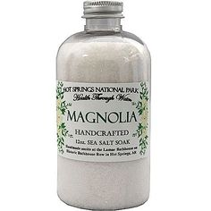 Magnolia Handcrafted Sea Salt Soak 12 oz $15.95