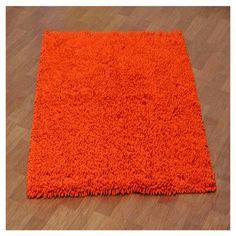 "Ebern Designs Baugh Orange Kids Area Rug Rug Size: 2'6"" x 4'"