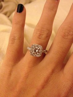 LOVE my engagement ring :)
