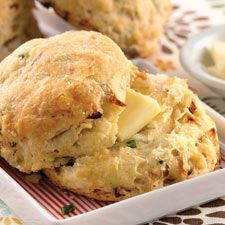 Caramelized Onion Sourdough Biscuits – holiday baking isn't just about sweets; add these biscuits to your party buffet.