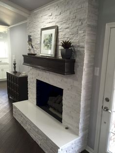 Awesome 80 Small Fireplace Makeover Ideas https://insidecorate.com/80-small-fireplace-makeover-ideas/