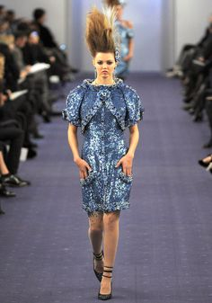 Chanel Spring 2012 Couture - Review - Fashion Week - Runway, Fashion Shows and Collections - Vogue - Vogue