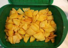 Patatas al pimentón (Lékué) Salad Recipes, Snack Recipes, Healthy Recipes, Snacks, Zucchini, Microwave Recipes, Microwave Food, Going Vegetarian, Sin Gluten