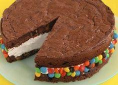 Birthday Brownie Ice Cream Sandwich!!
