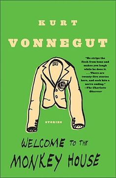 """Welcome to the Monkey House by Kurt Vonnegut- I bought this book just so I could read and reread """"Harrison Bergeron"""" whenever I wanted, but I discovered another gem of a short story: """"The Manned Missiles."""""""
