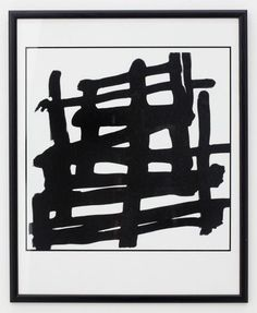 Keld Helmer-Petersen – Untitled (Black Noise), 2010
