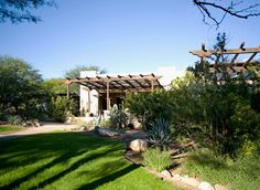 Miraval Arizona Resort & Spa Tucson, Arizona All-inclusive Grounds Luxury Resort Wellness tree grass sky property house plant home backyard Villa Garden lawn yard lush