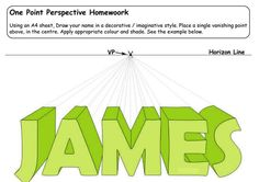 Image detail for -homework 2 pdf one point perspective homework 2 1 pdf