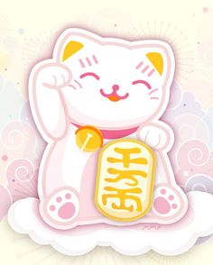 Jinjerup: Freebie: Manekineko Cute Printable!