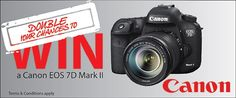 Double Your Chances to Win the new Canon EOS Mark II valued at As you might have heard is giving away a Canon EOS Mark II to one lucky winner. We are so excited about this contest we have decided to provide you with the [. Canon Eos, Competition, News, Photography, Fotografie, Photograph, Photo Shoot, Fotografia