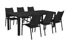 Puro polyrottinkinen ruokailuryhmä aintwood pöydällä | kalustekauppa.com