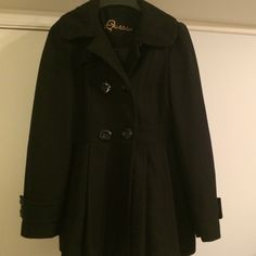 Guess jacket Black guess jacket.  Perfect condition Guess Jackets & Coats